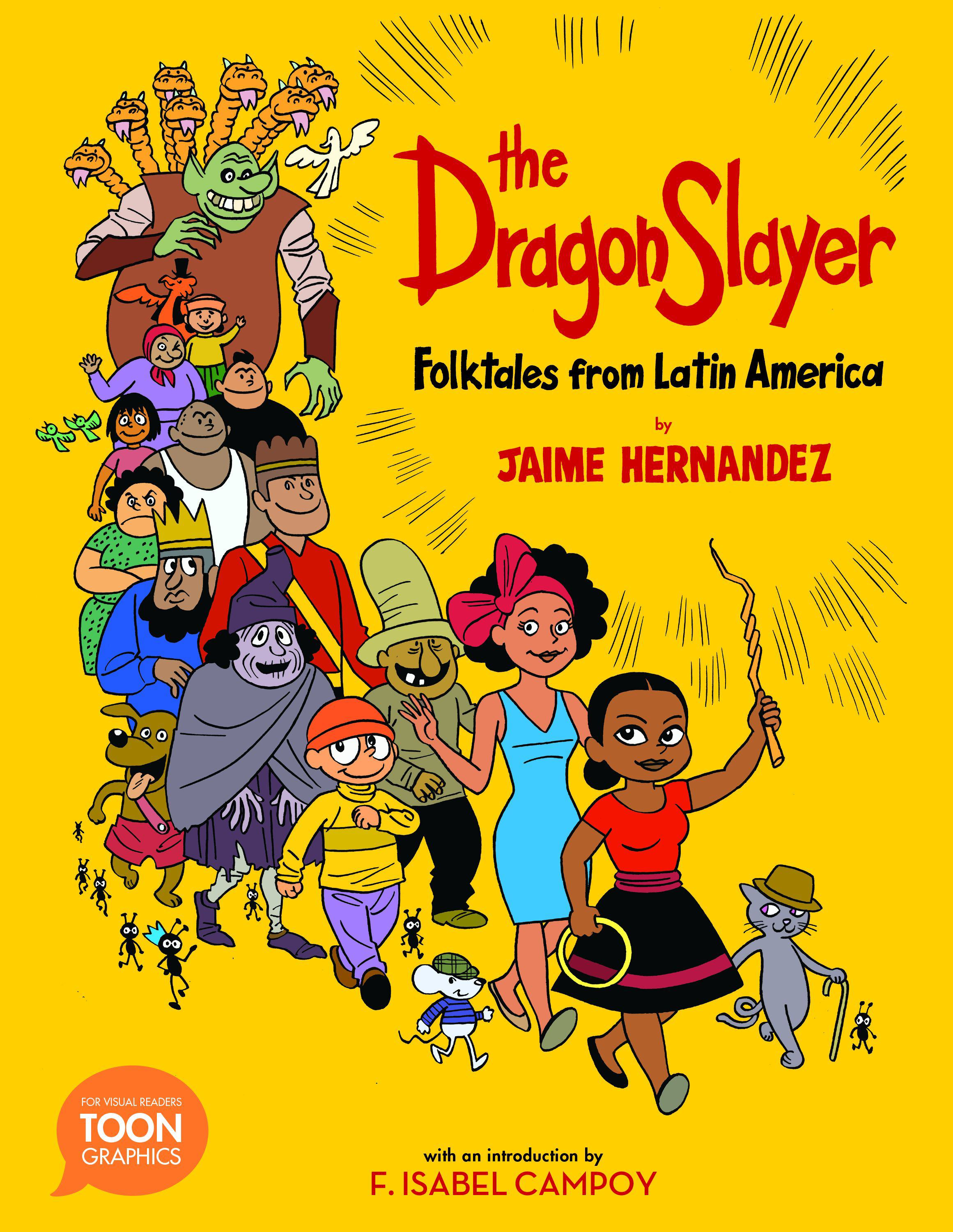 book cover image: The Dragon Slayer: Folktales from Latin America
