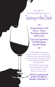 Blind Wine Tasting Invitation