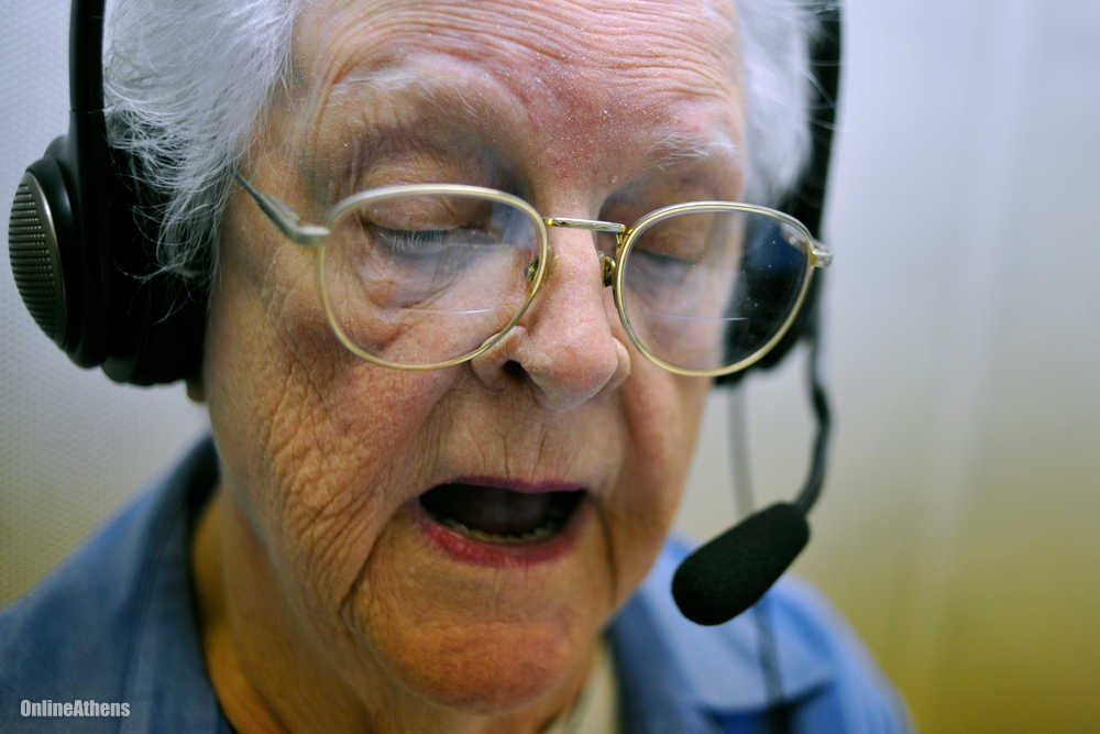 Online Athens: Athens Volunteer Spent 50 Years Recording Books for Disabled