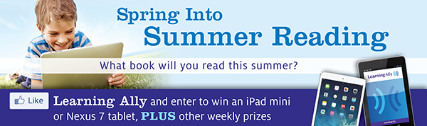 Spring Into Summer Reading Contest