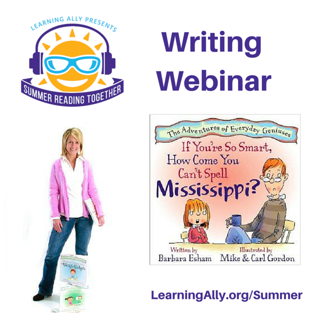 Webinar for Aspiring Writers & Their Parents