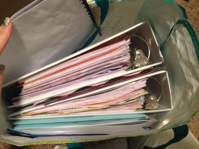 5 Quick Tips for Organizing your IEP Binder