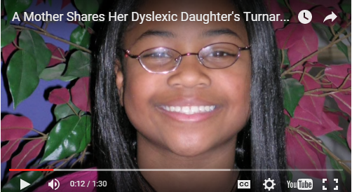A Mother Shares Her Dyslexic Daughter's Turnaround