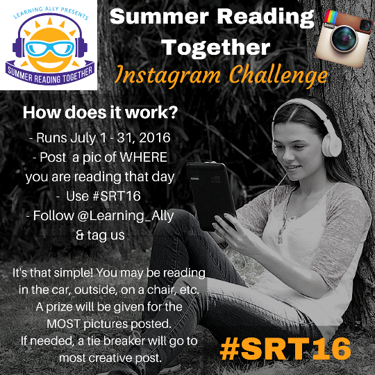 Ready, Set, READ! Join Our Summer Reading Together Social Media Challenge