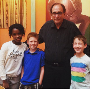 R.L. Stine Gets Goosebumps Learning About Audiobooks and Dyslexia