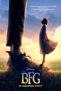 The BFG Movie Cover