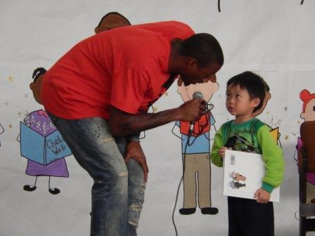NFL Rookie on a Mission to Help Struggling Readers