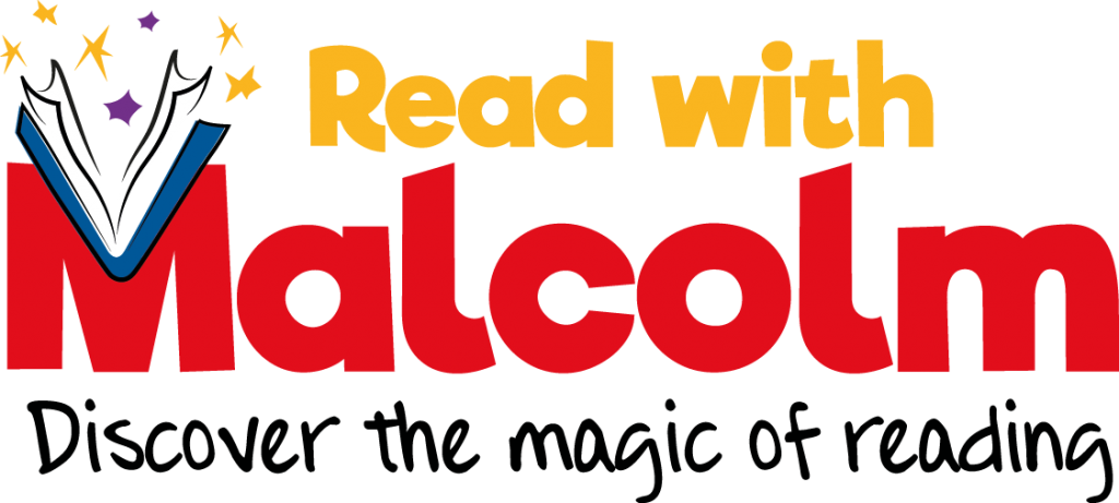 Read with Malcolm Logo