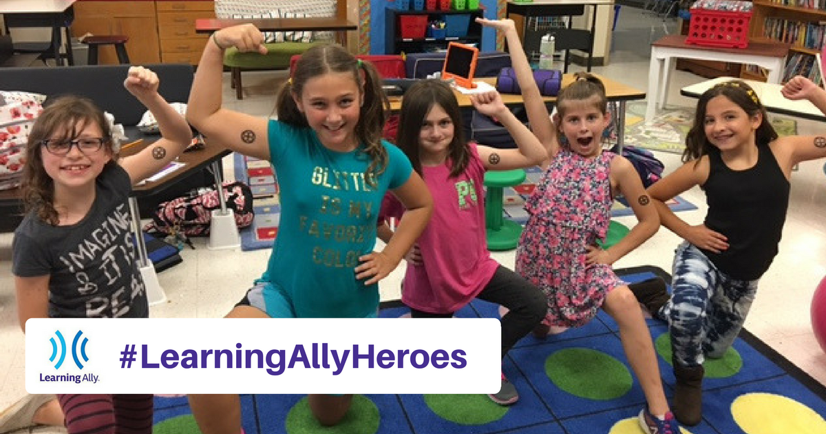 Enter Our March Photo Contest - Learning Ally Heroes!
