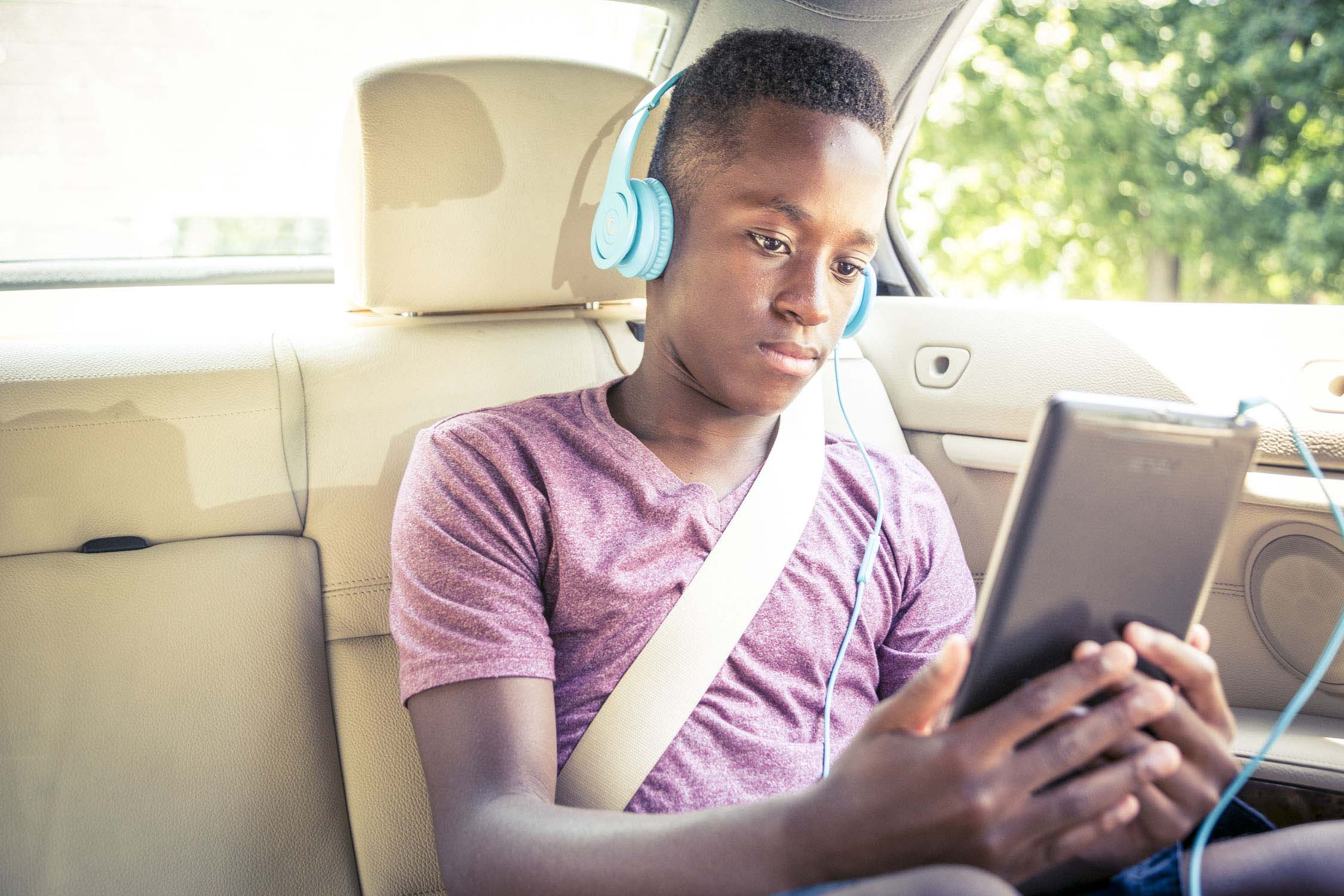 Are we there yet? Audiobooks for long car rides.