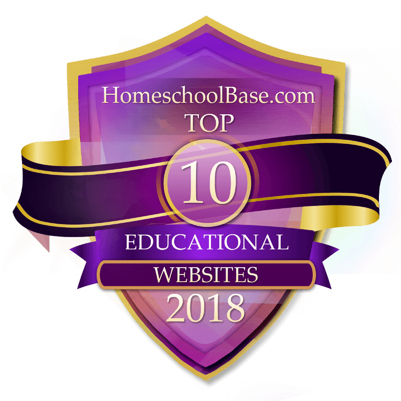 Homeschoolbase.com Top 10 Educational Websites 2018