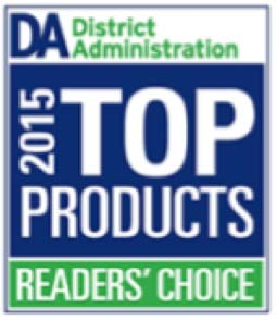 District Administration 2015 Top Products Readers Choice